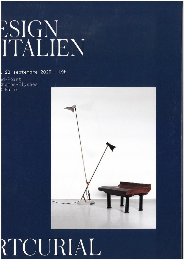 DESIGN ITALIEN, vente du lundi 28 septembre 2020 / Hervé Poulain |