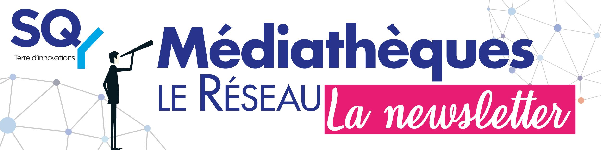 Newsletter médiathèques SQY